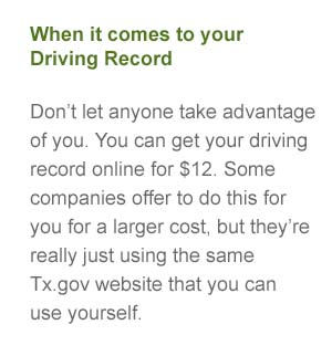 online defensive driving records