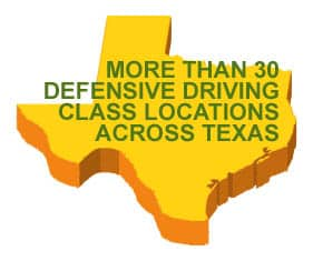Comedy Guys defensive driving class locations